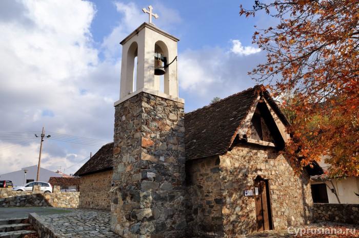 Церковь Преображения Господня в Палехори