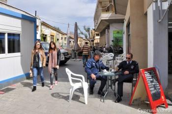 КПП на улице Ледра