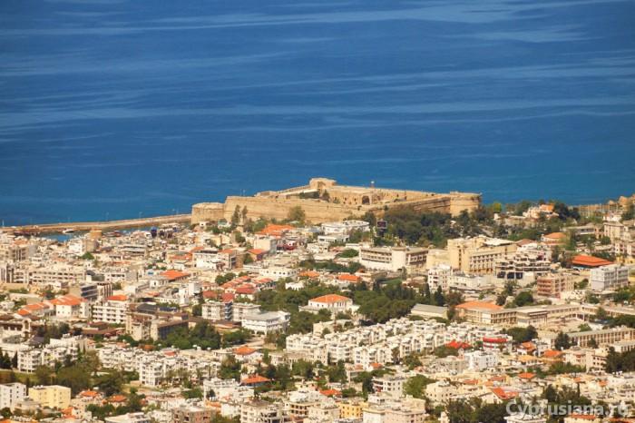 Керинийская крепость. Вид с горы