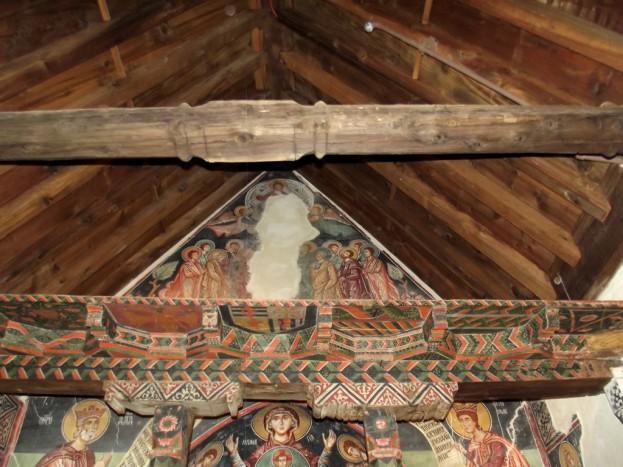 Гербы в церкви архангела Михаила в Педуласе