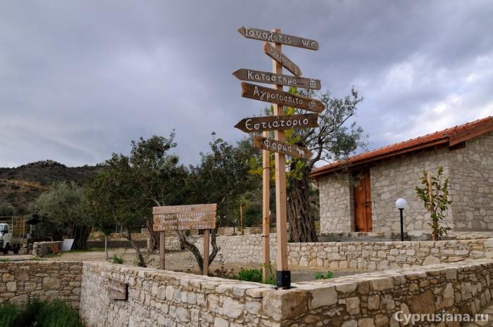 Церковь на ослиной ферме