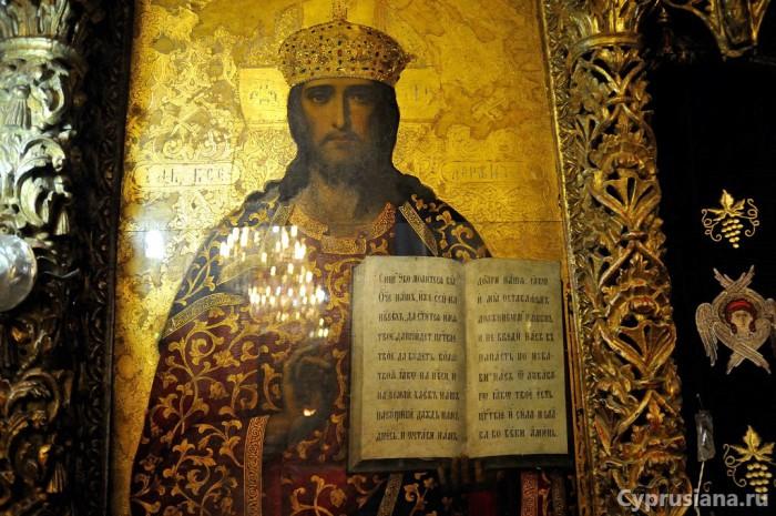 Русская икона в Омодосе