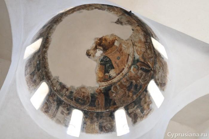 Пирга. Купол церкви св. Марины