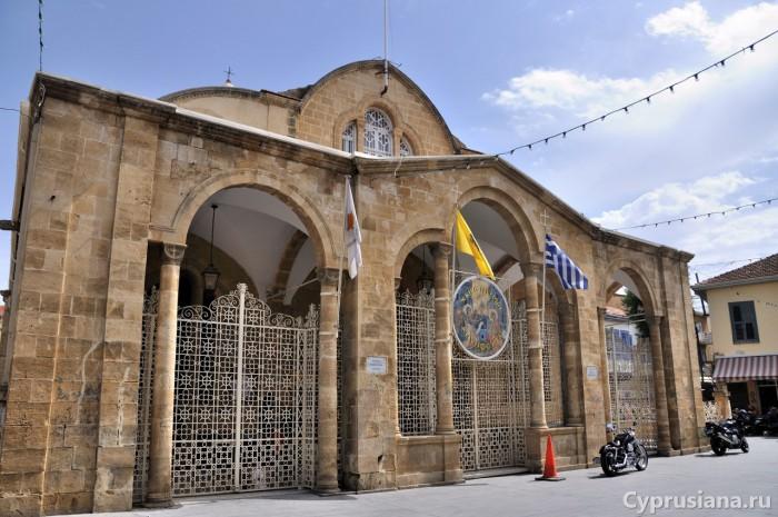 Церковь Богородицы Фанеромени