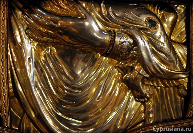 Оклад Киккской иконы Богоматери