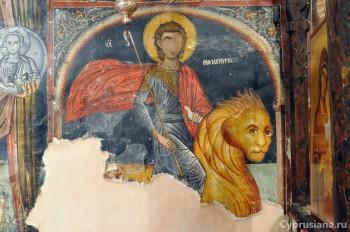 Церковь Святого Маманта в Луварас (1495, художник Фиипп Гул)