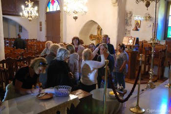 В церкви Киприана