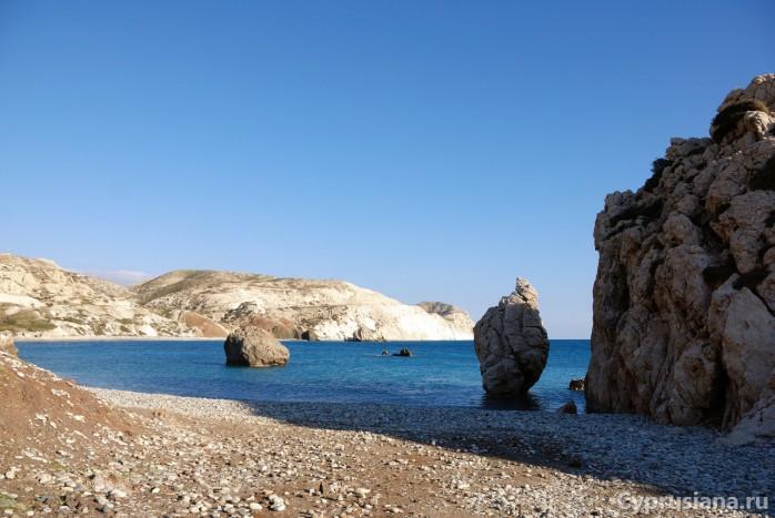 Камни на месте рождения Афродиты