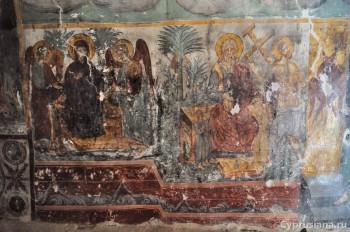 Фрагменты фресок