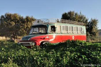 Деревенский автобус