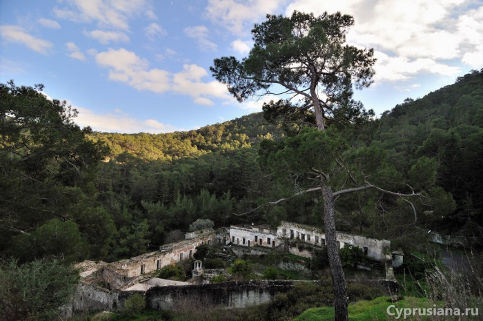 Вид на монастырь Сурб Магар