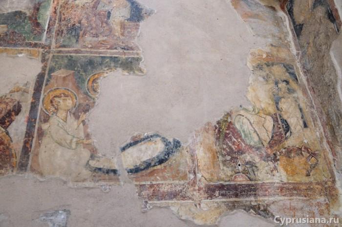 Жены-мироносицы у Гроба и остатки «Воскресения»