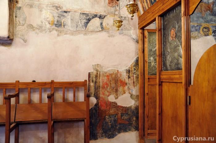 Фреска Аргангела Михаила