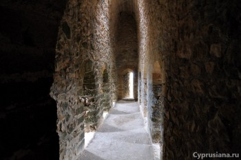Внутри башни