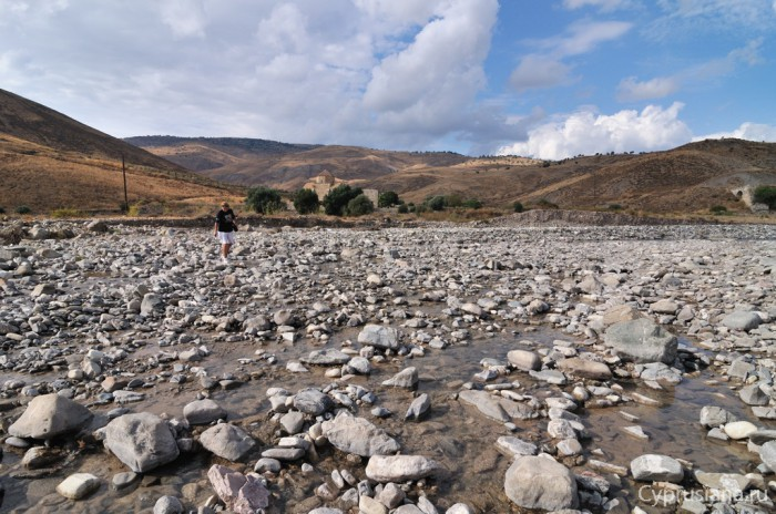 Переход Лены через реку Ксерос