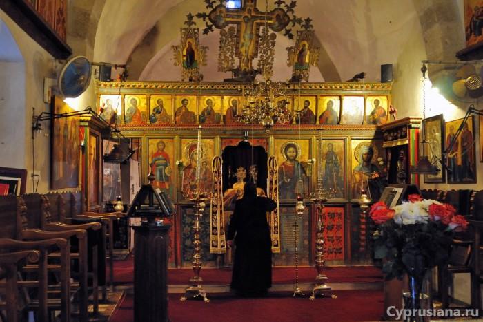 Иконостас в церкви монастыря св. Фёклы