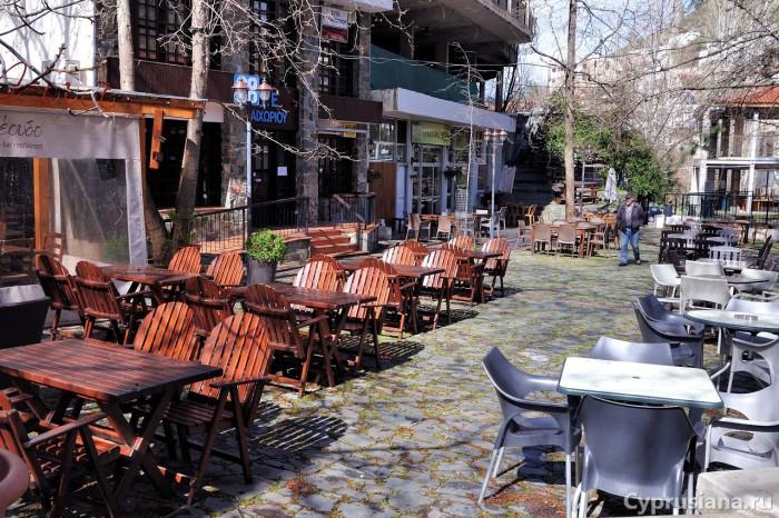 Таверны в центре деревни