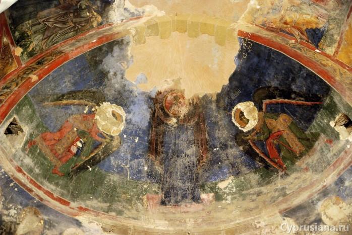 Богоматерь и ангелы