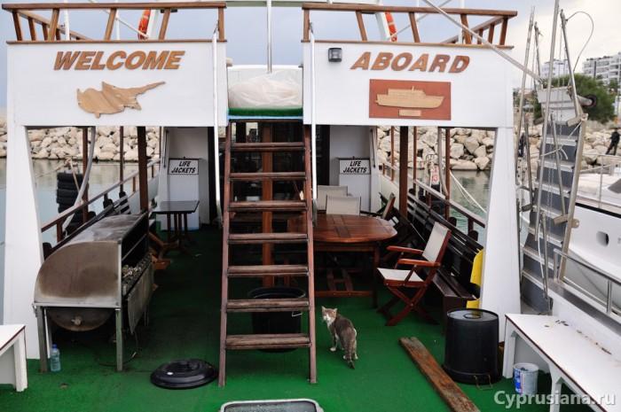 Прогулочная яхта в Ларнаке