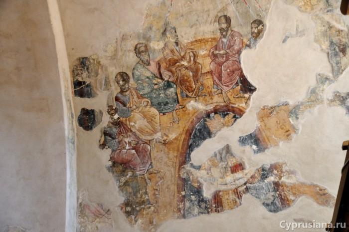 Фрески монастыря Timios Stavros