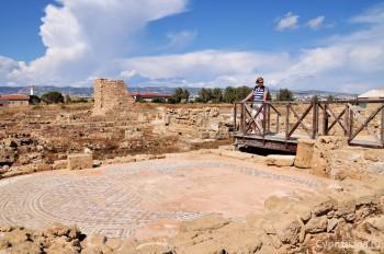 Мозаики на вилле Орфея