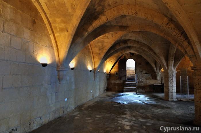 В подвалах аббатства