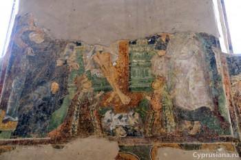 Пирга. Королевская чета на фресках