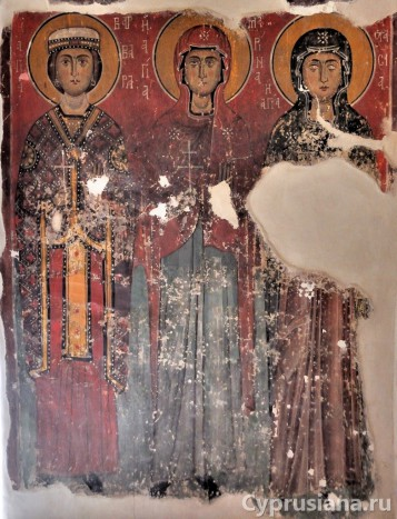 Святые Варвара, Марина и Анастасия