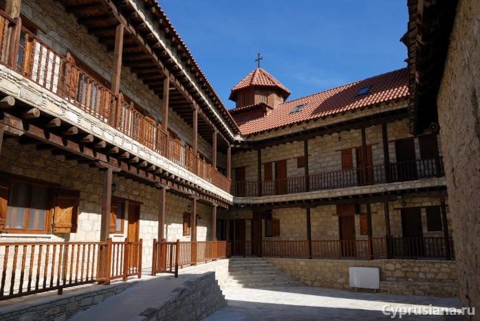 Монастырь Панагии Амасгу в Монагри
