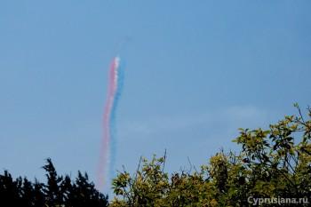 Полёты над Акротири