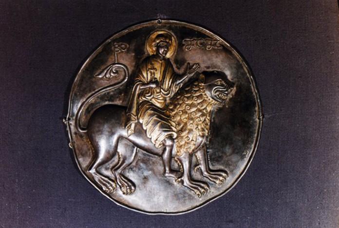 Тондо из Гелати, XI век, Грузия