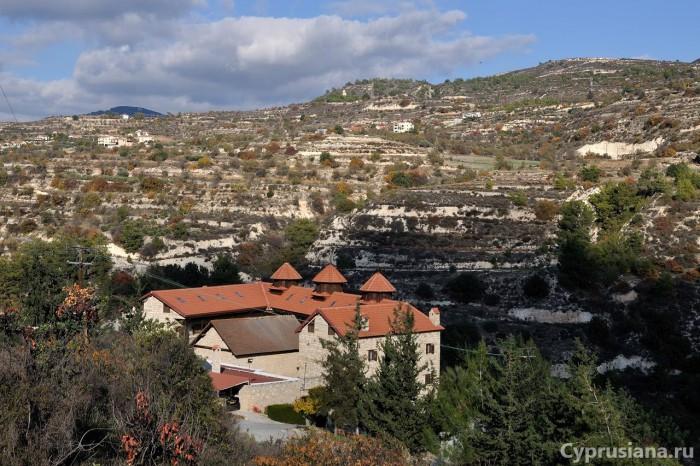 Монастырь Панагия Амасгу
