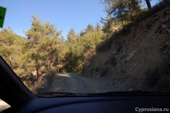 Дорога к водопаду Кантара