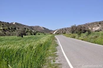 Дорога к церкви
