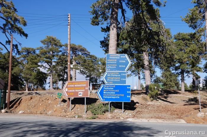 На развилке дорог в Троодосе