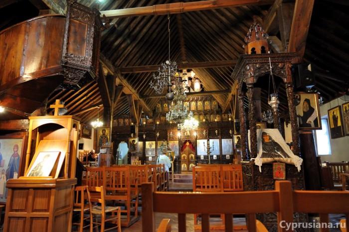 Церковь Св. Марины внутри