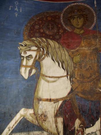Святой Георгий. Деталь