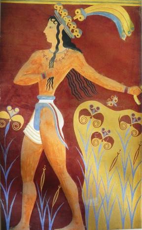 Принц с лилиями