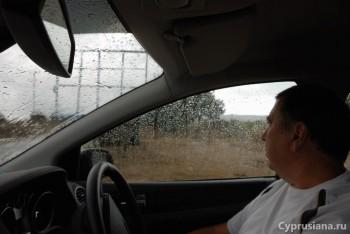 Под дождём в аномальной зоне