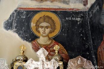 Фрески в церкви Панагии Амасгу