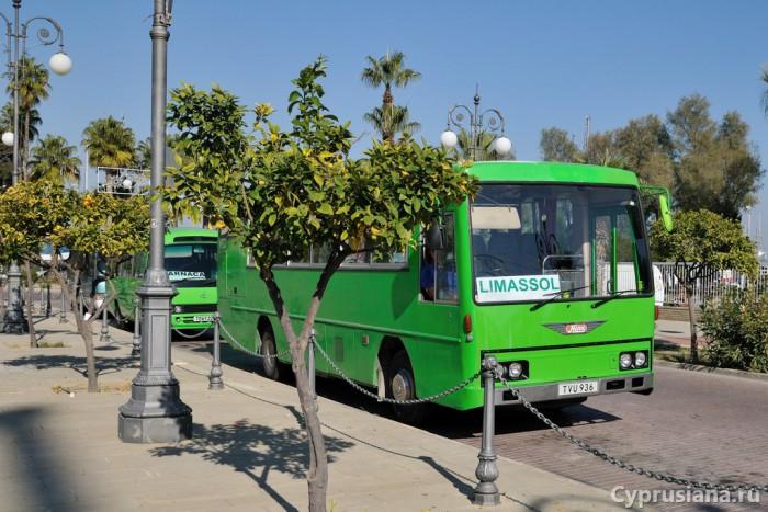 Автобус Лимасол-Ларнака