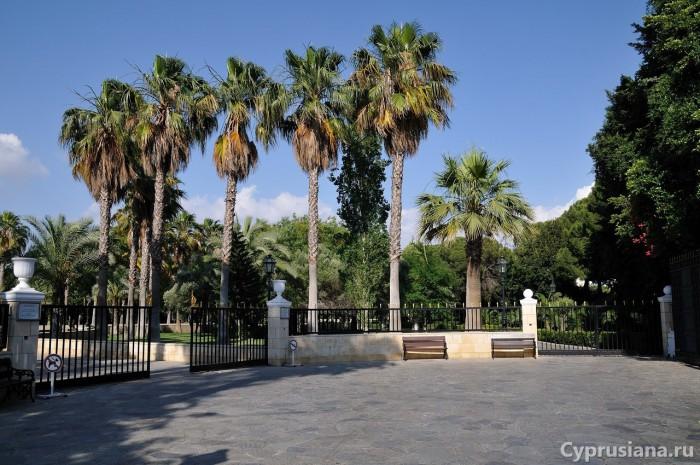 Парк Metochi Kykkou