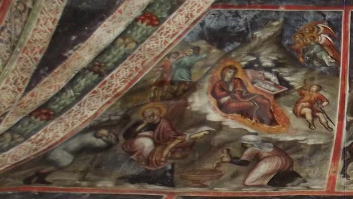 Рождество («Слышаша пастырие ангелов…») Роспись Латинской капеллы