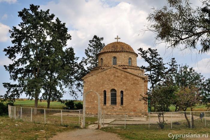 Место захоронения апостола Варнавы