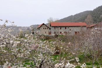 У ворот монастыря