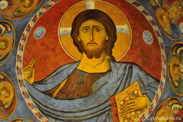 Изображение Христа Пантократора