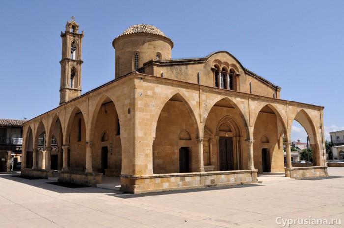 Церковь св. Мамаса в Морфу (северный Кипр)